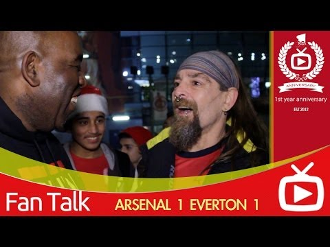 Arsenal FC  Everton 1 - It's Up To The Others To Catch Us says Bully