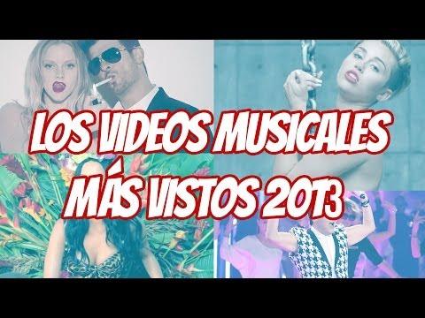 Psy, Miley y los Videos Musicales Más Vistos 2013