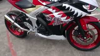 Modifikasi Yamaha R25 Indonesia Over Racing Layz Motor