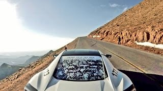 2016 PIKES PEAK Victory Run in Acura NSX. YouCar Car Reviews.