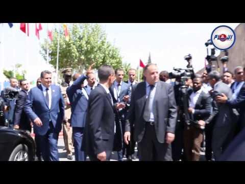هكذا استقبلت الجالية الغينية الرئيس آلفا كوندي بمكناس
