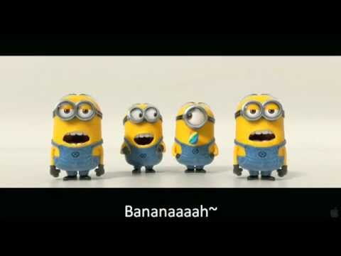 Banana and Potato Song with Subtitled Lyrics (Despicable Me 2 Trailer)