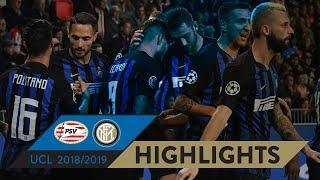 PSV 1-2 INTER | HIGHLIGHTS | Matchday 02 - UEFA Champions League 2018/19