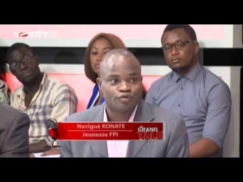 Le Grand Talk- La Quotidienne invités: Konaté Navigué (FPI), Alphonse Soro (RDR)