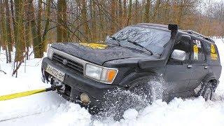 ➤ Toyota 4Runner & Mitsubishi Pajero Sport in Snow  Off-Road 4x4 .. Полный Привод 4х4 - Офф Роуд Видео.