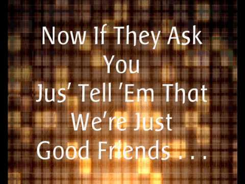 Michael Jackson Ft. Stevie Wonder - Just Good Friends. (Lyrics).