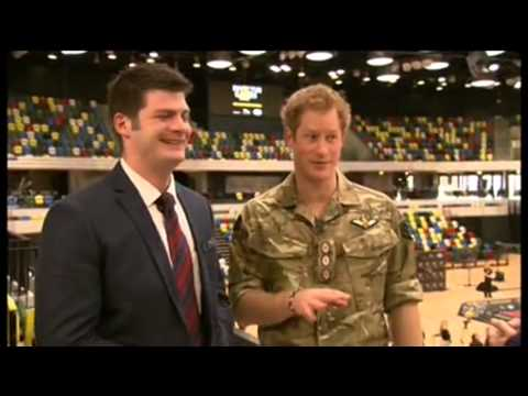 Prince Harry SWEARS in Interview for Invictus Games for the Wounded