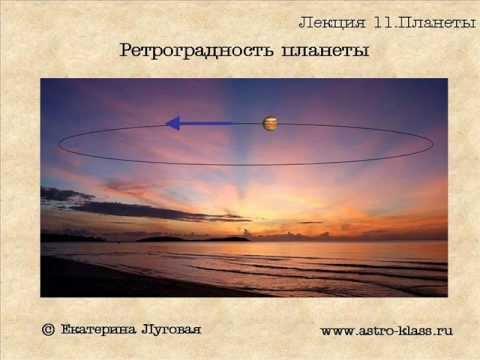 """Курс по астрологии """"Структура гороскопа"""". Урок 11. Планеты ч.3"""
