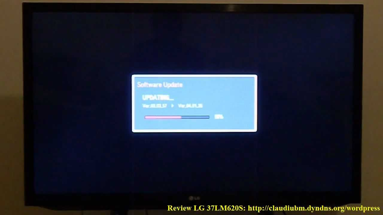 Update firmware TV LG seria LM620S - 32LM620S / 37LM620S ...