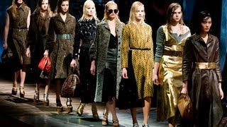 PRADA FALL/WINTER 2013 WOMENSWEAR SHOW