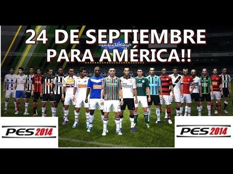 PES 2014 FECHA CONFIRMADA PARA AM RICA