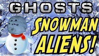"EXTINCTION ""NIGHTFALL"" EASTER EGG! SNOWMAN ALIENS! (Call"