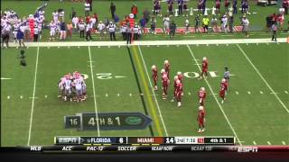 Miami Vs Florida FULL GAME HD 2013