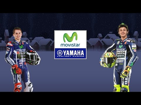 Seasons Greetings from Movistar Yamaha MotoGP