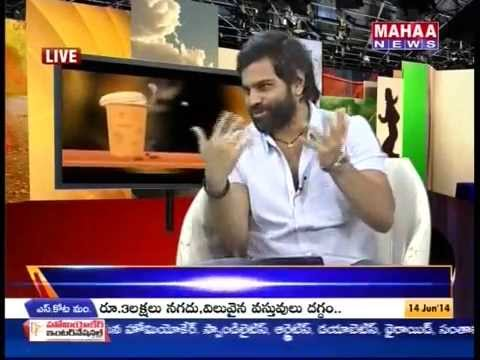 Sreeram chandra Indian Idol in Morning Coffee part - 2 -Mahaanews