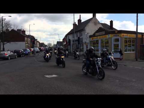 Hells angels Neil Mott funeral tribute 2014