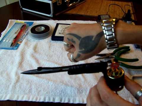 Maquina de tatuar casera