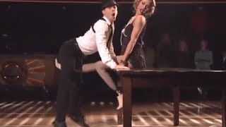 DWTS Season 18 WEEK 9 : Amy Purdy & Derek Jazz Dancing
