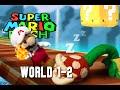 Super Mario Plush World 1-2