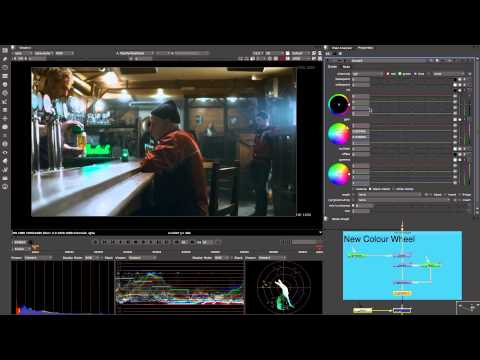 In Panel Color Wheels - NUKE 8 Sneak Peek