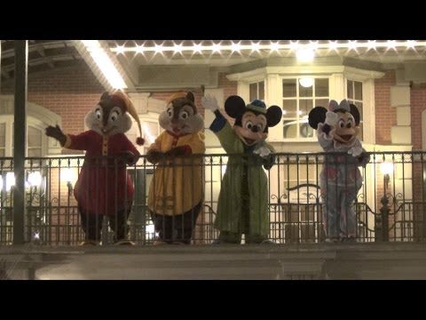 Rock Your Disney Side 24 Hour Final Goodbye Show w/ Mickey, Minnie, Donald, Chip & Dale in Pajamas