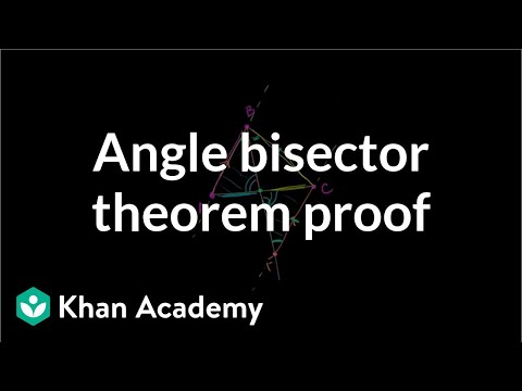 Angle Bisector Theorem Proof