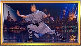 Demuestra ser un MAESTRO del KUNG FU chino   Audiciones 8   Got Talent España 2019