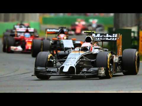 Kevin Magnussen Formula 1 Melbourne 2014 2. Place