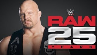 17 WWE Returns Confirmed For Raw 25th Anniversary Show