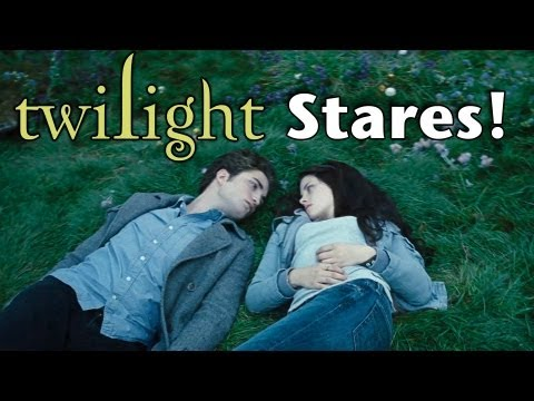 The Twilight Saga: Just The Stares, Ever notice how often everybody in Twilight just stares at each other? Well we decided to count... Be sure to check out all FOUR Honest Trailers we've made f...