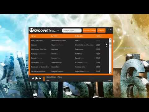 GrooveStream - Stream & Download Music From GrooveShark.