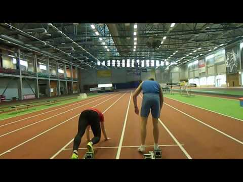 Track and Field -  Standing jumps and Block starts / acceleration