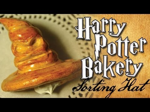Harry Potter Clay Bakery: Sorting Hat Cornet, bakery
