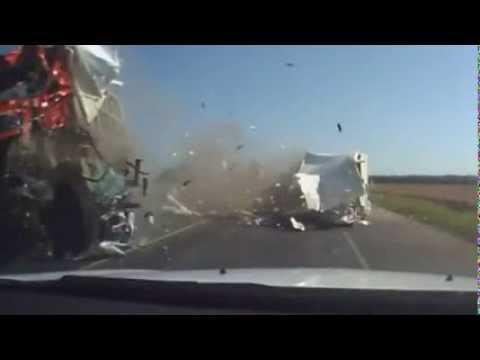 октябрь 2013 часть 20 Car crash compilation 2013