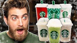 Starbucks Year-Round Holiday Drinks Taste Test