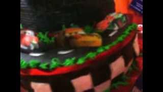 TORTA INFANTILES CARS II.VIVIANA EME Chef VIVIANA