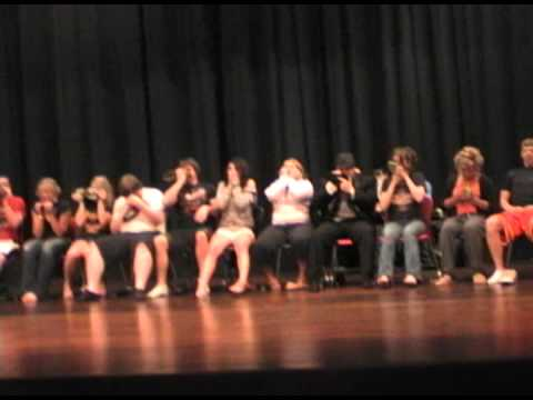 Exerpts from Linda Dietz Comedy Hypnosis Show- OXYGEN MASK