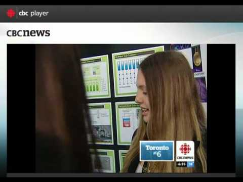 Television Interview - Award Winning Science Fair Project