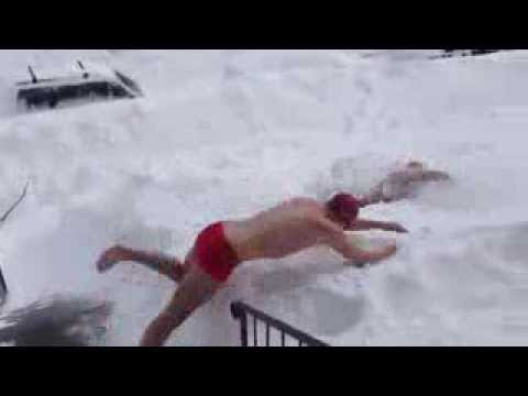 Swimming Snow Snow Swimming 2014 hd