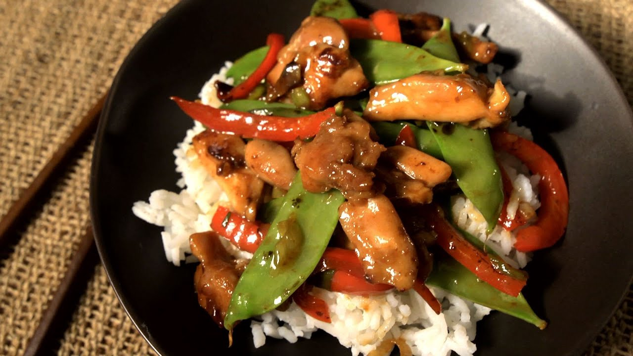 How to Make an Easy Chicken Stir-Fry - The Easiest Way - YouTube