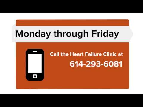 Congestive Heart Failure, When to call your healthcare provider