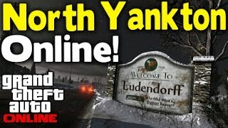 "GTA Online How To Get ""NORTH YANKTON"" Online! (Secret"