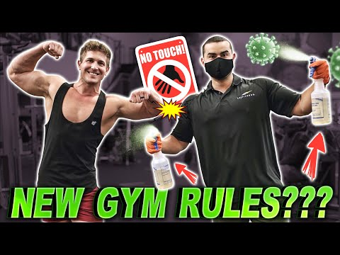 """MY FIRST """"GYM"""" WORKOUT IN MONTHS! (LA FITNESS HAS SOME NEW RULES)"""
