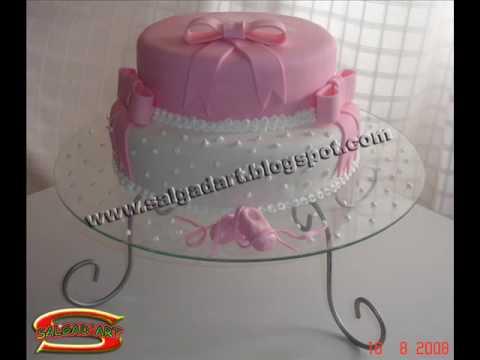 bolos de pasta americana variados