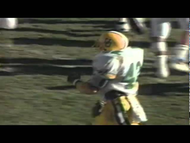 Oregon FB Latin Berry 13 yard run vs. BYU 11-04-1989