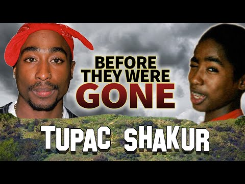 TUPAC SHAKUR - Before They Were DEAD - 2PAC