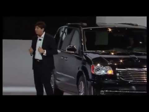 2011 Chrysler Town & Country Reveal at the North American International Auto Show