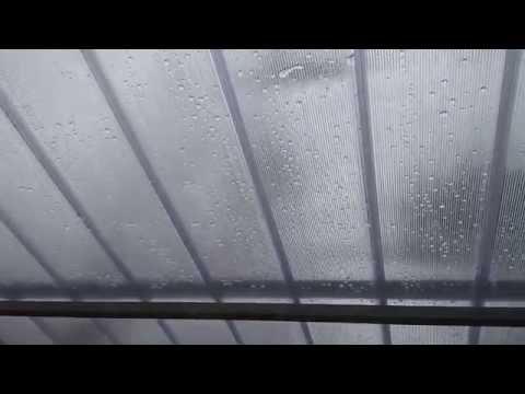 Garagem com Telhas de Policarbonato click cristal   Polysolution