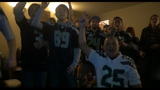 Seahawks Fan Reaction VS Patriots Superbowl XLIX (49) 2-1
