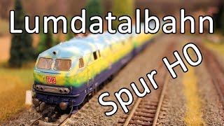 Die Lumdatalbahn als Modelleisenbahn vom MBF Lollar und MEC Marburg